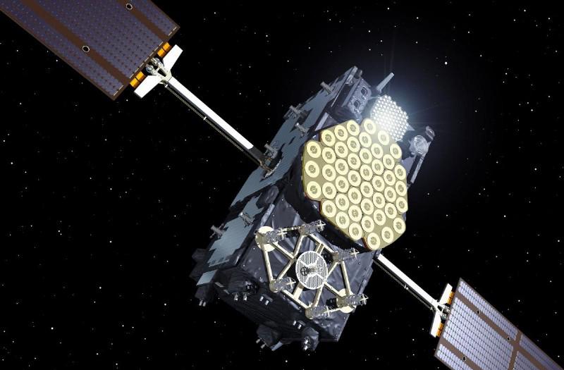 Militär satellit - Källa: ASDreports.com