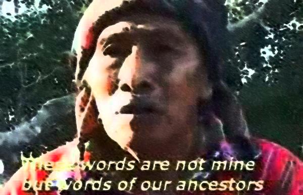 Carlos Barrios Mayan elder