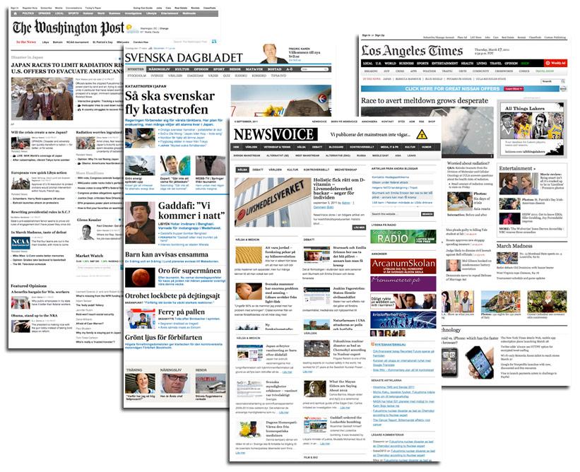 Wordpress ezine designs