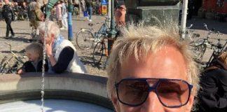 Christer Perfjell, selfie
