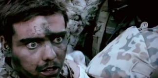 Filmbild från Armadillo, 2009