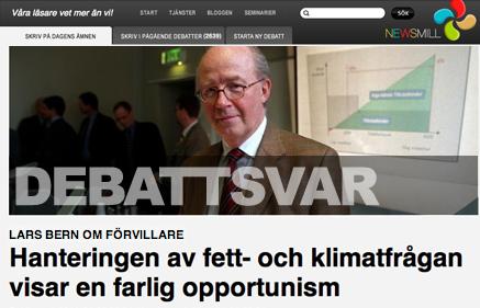 Lars Bern på Newsmill