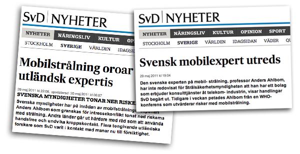 Skärmdumpar från SVD: se. Kollage: NewsVoice