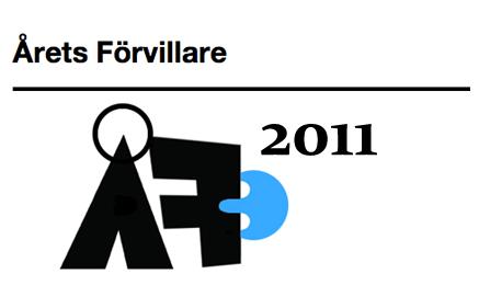 Årets Förvillare 2011