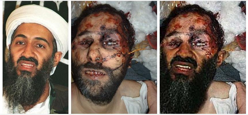 Osama bin laden - Montage: NewsVoice.se