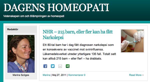 narkolepsi vaccin