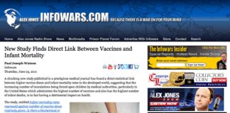 Vaccin, barnvaccin - Foto: InfoWars