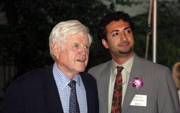 Ted Kennedy and Sherwin Boloorian