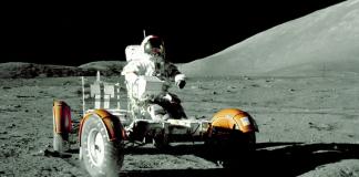 Apollo17 moon car