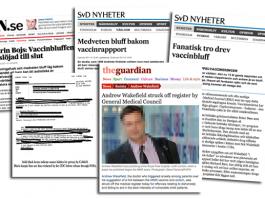 Andrew Wakefield i media - Montage: NewsVoice