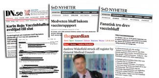 Andrew Wakefield i media - Montage: NewsVoice