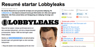Lobbyleaks Resumé