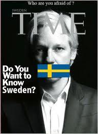 Assange,   Sverige