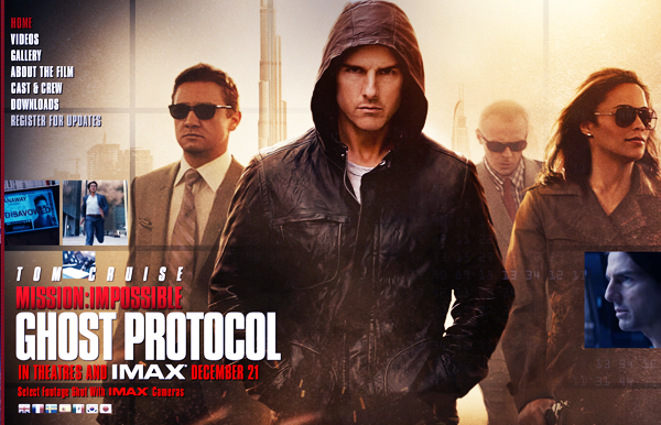 Mission Impossible, Ghost Protocol