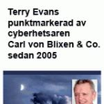 Terry Evans vs Carl von Blixen