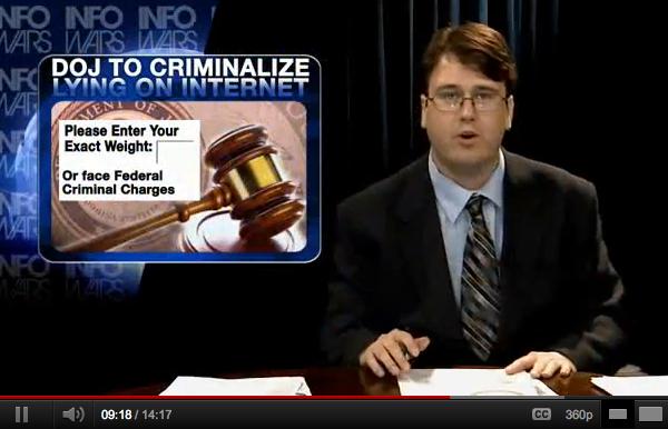 Kriminalisering av konspirationer på internet