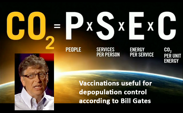 Vaccinations and Bill Gates talking at Ted