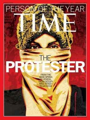 Time Magazine - The protester