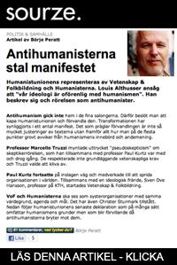 Antihumanisterna stal manifestet