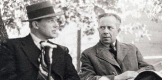 Harry Martinson och Ivar-Lo Johansson