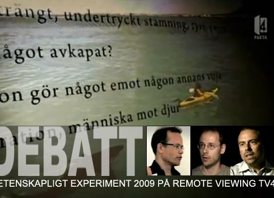 Torbjörn Sassersson Remote Viewing test