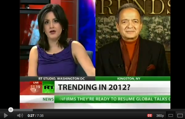 Trends forecasting 2012