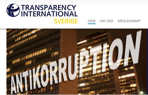 Korruption i Sverige