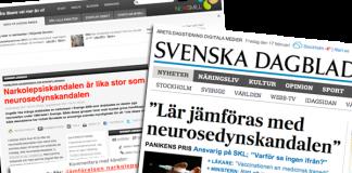 Neurosedyn- och narkolepsiskandalen. Montage: NewsVoice