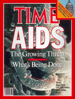 TIME Magazine on AIDS, 1985