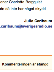 Julia Carlbaum, SR