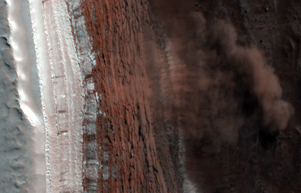 Mars,   lavin