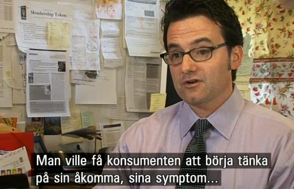 Läkemedelsindustrin granskas i dokumentären Sjukdomar AB