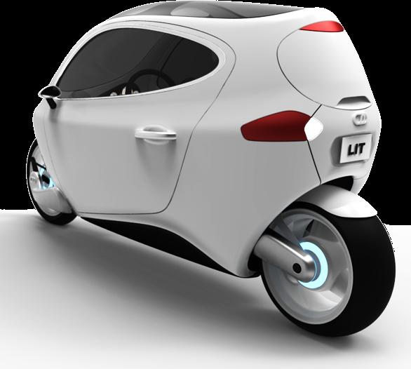 C1 elektrisk motorcykel