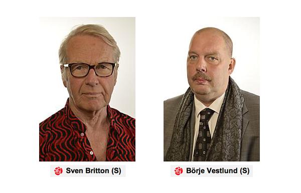 Sven Britton och Börje Vestlund