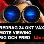 Remote viewing föredrag