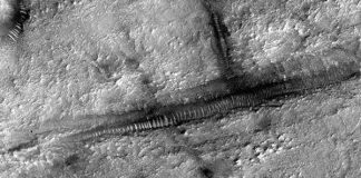 """Så kallade """"Mars tubes"""""""