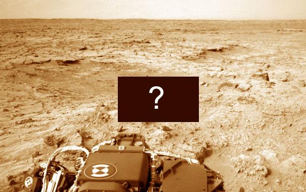 NASA hemligt fynd