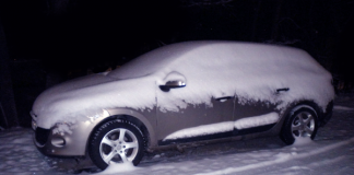 Renault Megane behöver också bilvård