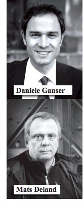 Daniele Ganser, Mats Deland