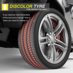 Discolor Tyre