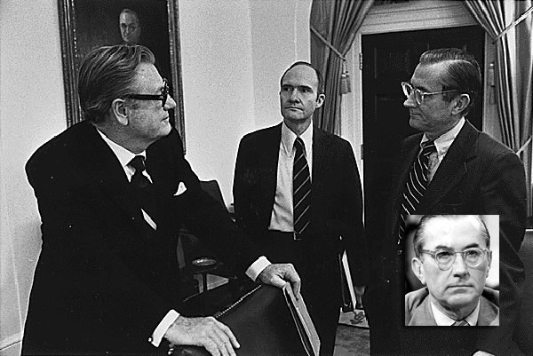 William Colby (även infälld), Nelson A. Rockefeller, Brent-Scowcroft