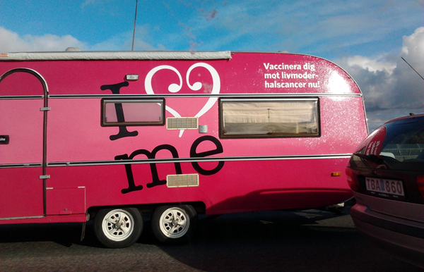 """I love me"" vaccin, Gardasil - Foto: Torbjörn Sassersson"