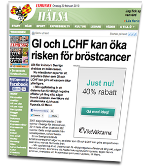 LCHF cancer