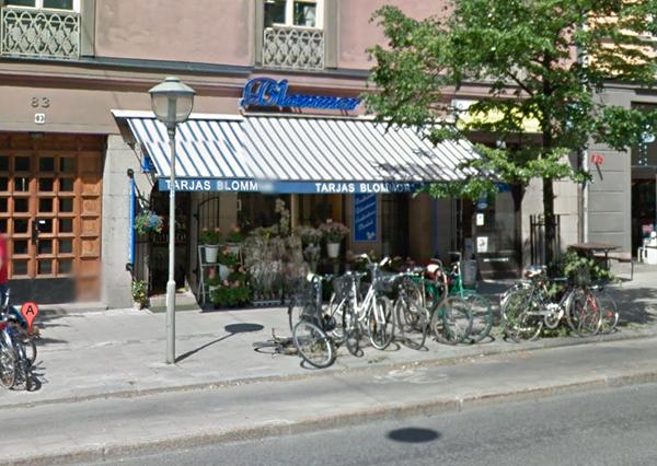 Stockholms bästa blomjord? Bild: Google Maps