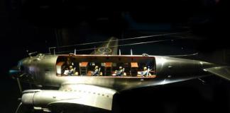 FRA använde en DC3:a. Foto: Micke Asklander
