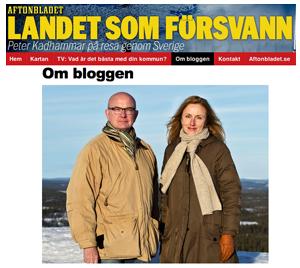 Sverige försvann