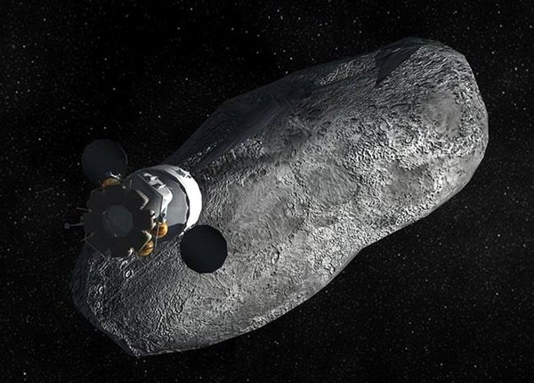 NASA to grab asteroid