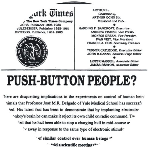 Push button people
