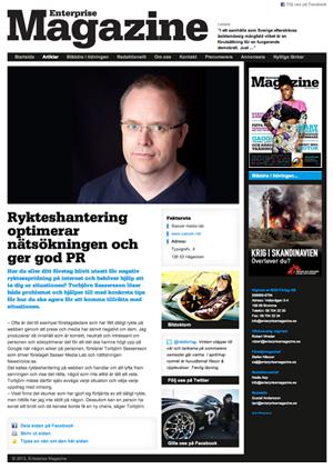 Rykteshanetring på webben - Torbjörn Sassersson