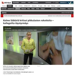 Vaccin kritik i Finland